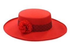 Sombrero de las señoras foto de archivo libre de regalías