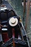 Sombrero de los gondoleros Foto de archivo