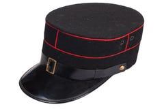 Sombrero de los oficiales de policía fotos de archivo