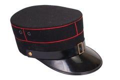 Sombrero de los oficiales de policía fotos de archivo libres de regalías