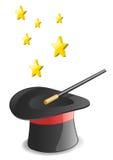 Sombrero de Macig Stock de ilustración