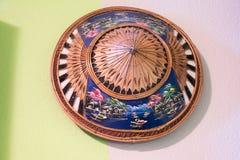 Sombrero de madera Fotografía de archivo