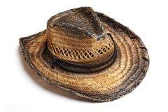 Sombrero de paja Imagenes de archivo