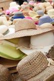 Sombrero de paja Foto de archivo libre de regalías