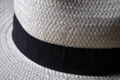 Sombrero de paja del verano Foto de archivo libre de regalías