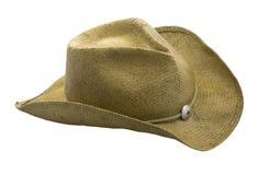 Sombrero de paja occidental del estilo Fotografía de archivo