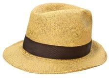 Sombrero de paja panameño foto de archivo