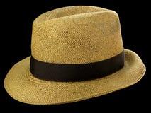Sombrero de paja panameño imagen de archivo