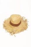 Sombrero de paja, verano Panamá fotos de archivo libres de regalías