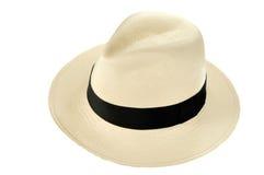 Sombrero de Panamá Imágenes de archivo libres de regalías