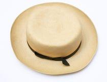 Sombrero de Panamá de la vendimia Imágenes de archivo libres de regalías