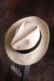 Sombrero de Panamá Imagen de archivo libre de regalías