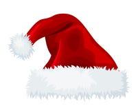 Sombrero de Papá Noel. ilustración del vector