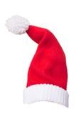 Sombrero de Papá Noel para Chirstmas Imágenes de archivo libres de regalías