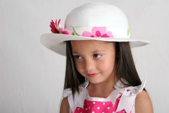 Sombrero de Pascua Fotos de archivo libres de regalías