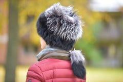 Sombrero de piel Fotografía de archivo libre de regalías