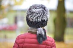 Sombrero de piel Foto de archivo libre de regalías