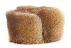 Sombrero de piel del invierno Fotografía de archivo libre de regalías