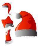 Sombrero de Santa Christmas Fotos de archivo libres de regalías