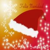 Sombrero de Santa Claus Fotos de archivo libres de regalías