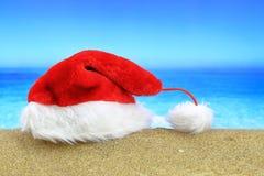 Sombrero de Santa Claus Imagenes de archivo