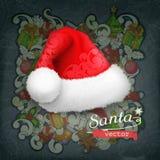 Sombrero de Santa Claus Fotografía de archivo