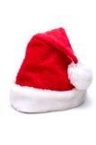 Sombrero de Santa de la Navidad Imagen de archivo