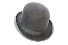 Sombrero de seda muy viejo Fotos de archivo libres de regalías