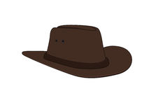 Sombrero de vaquero stock de ilustración