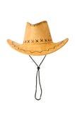 Sombrero de vaquero aislado Fotografía de archivo