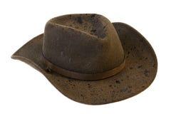 Sombrero de vaquero mojado del fieltro de las lanas Foto de archivo libre de regalías