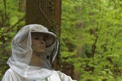 Sombrero del apicultor Imagen de archivo libre de regalías