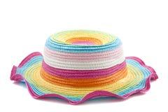 Sombrero del arco iris Imagen de archivo libre de regalías