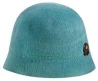 Sombrero del cloche de las mujeres del fieltro Imagen de archivo libre de regalías