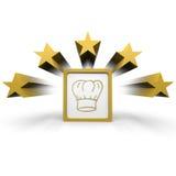 Sombrero del cocinero Imagen de archivo libre de regalías