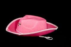 Sombrero del Cowgirl Fotografía de archivo libre de regalías