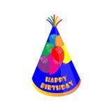 Sombrero del cumpleaños Fotos de archivo