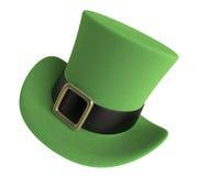 Sombrero del día del St Patrick Fotos de archivo libres de regalías