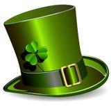 Sombrero del día del St. Patrick stock de ilustración