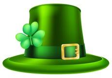 Sombrero del día del St Patricks Fotografía de archivo libre de regalías