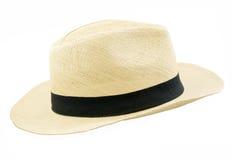 Sombrero del estilo de Panamá Fotos de archivo