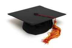 Sombrero del graduado Imagenes de archivo