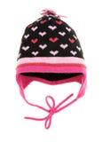 Sombrero del invierno de los niños Fotografía de archivo