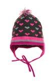 Sombrero del invierno de los niños Fotos de archivo