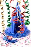 Sombrero del partido Foto de archivo