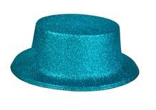 Sombrero del partido aislado en el fondo blanco Imágenes de archivo libres de regalías