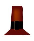 Sombrero del peregrino de la acción de gracias Imagenes de archivo