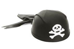 Sombrero del pirata Imágenes de archivo libres de regalías