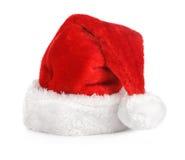 Sombrero del rojo de Santa Imagen de archivo libre de regalías