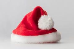 Sombrero del rojo de Santa Claus fotos de archivo